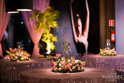 Festa de quinze anos tema bailarina