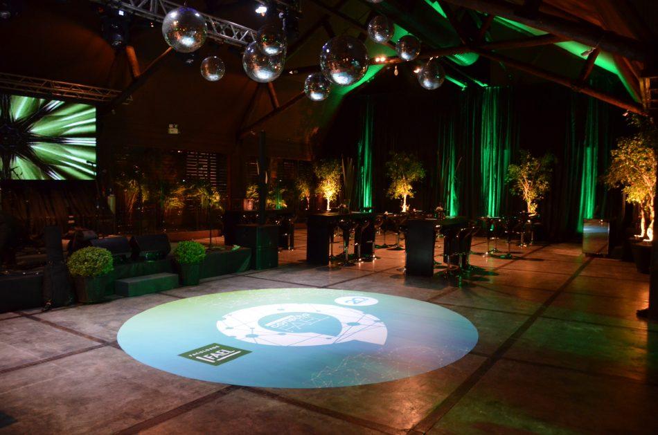 20 anos da FAEL em Curitiba - Espaço para eventos